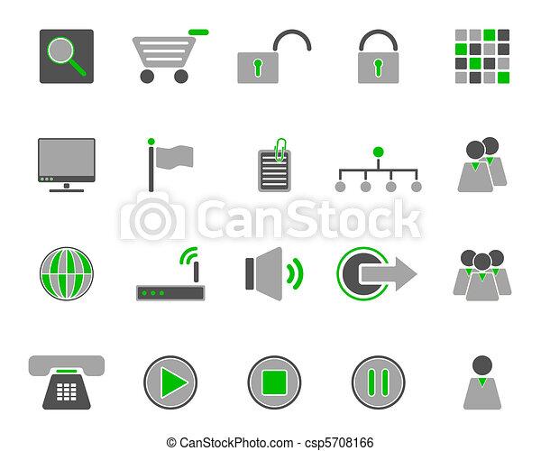 icone fotoricettore - csp5708166