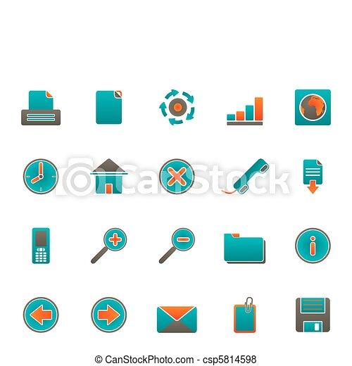icone fotoricettore - csp5814598