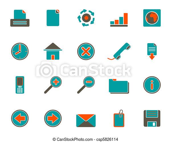 icone fotoricettore - csp5826114
