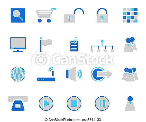 icone fotoricettore - csp5841133