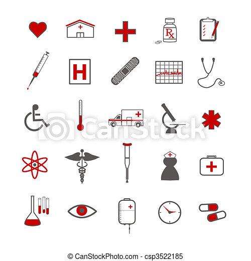 icone mediche - csp3522185