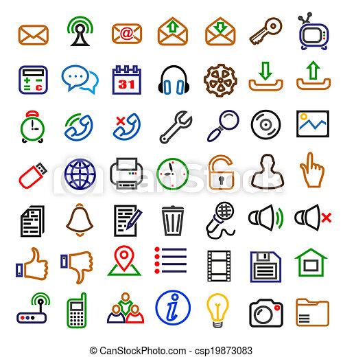 icone, web - csp19873083
