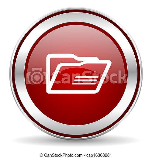 Un icono del Folder - csp16368281
