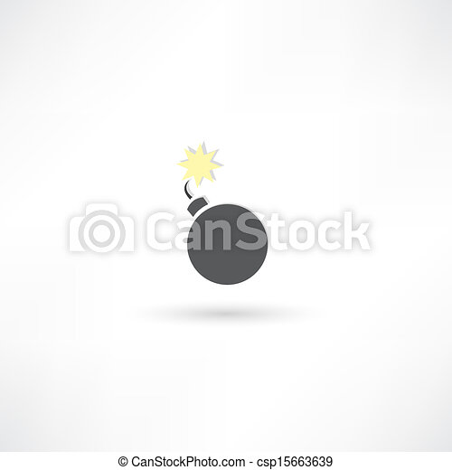 Un icono de bombas - csp15663639