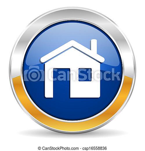 icono de la casa - csp16558836