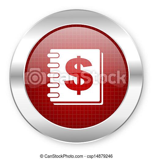 Un icono del dinero - csp14879246