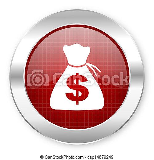 Un icono del dinero - csp14879249