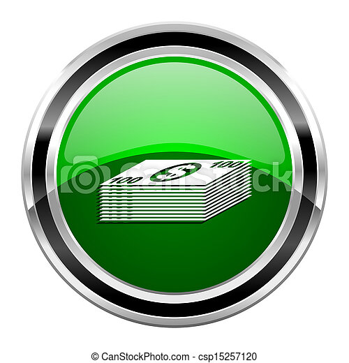 Un icono del dinero - csp15257120