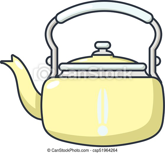 Icono de estaño, estilo de dibujos animados - csp51964264