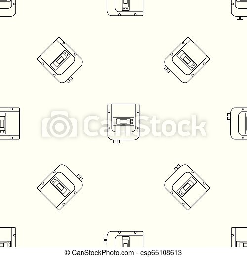 Eléctrico contra ícono, estilo esbozo - csp65108613