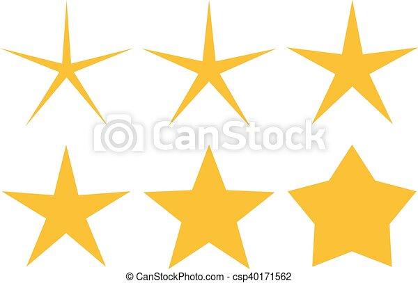 icono estrella - csp40171562