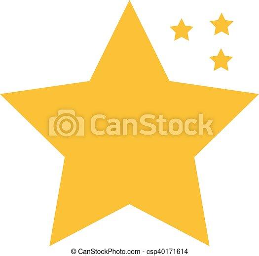 icono estrella, icono estrella EPS - csp40171614