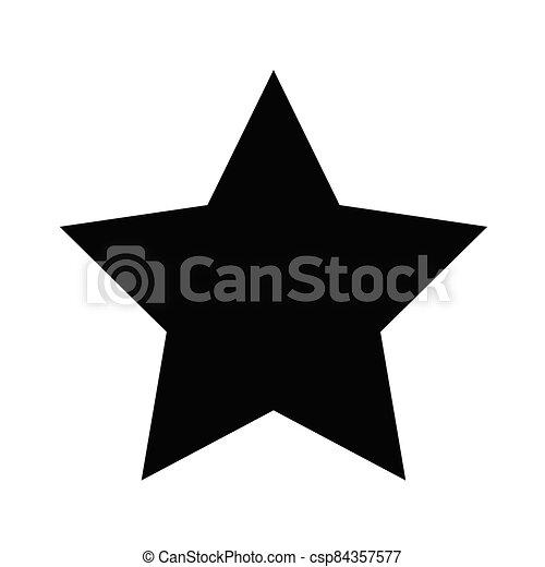 icono, estrella - csp84357577