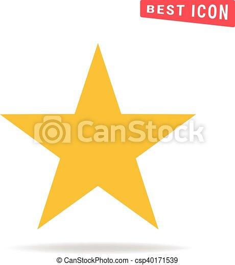 icono estrella - csp40171539