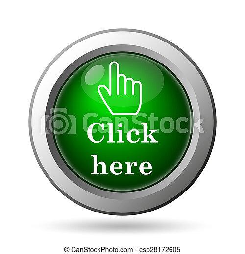 Click aquí icono - csp28172605