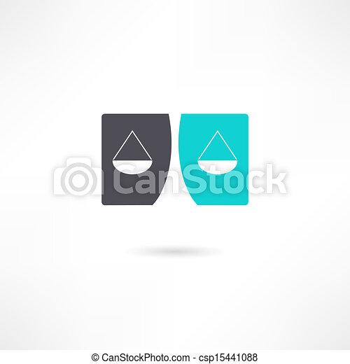 Un icono de la justicia - csp15441088