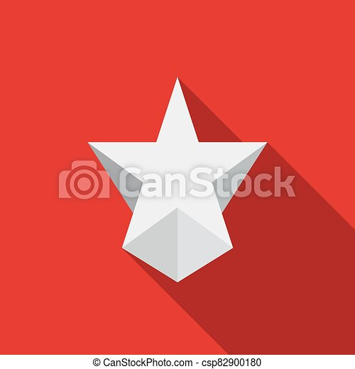 icono, moderno, estrella - csp82900180
