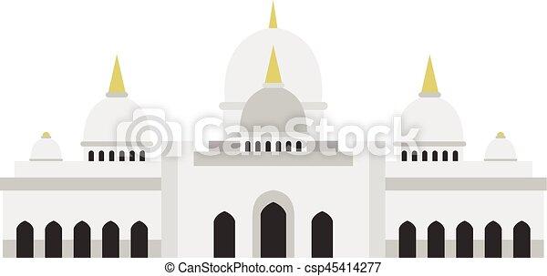 Estilo Taj Mahal - csp45414277