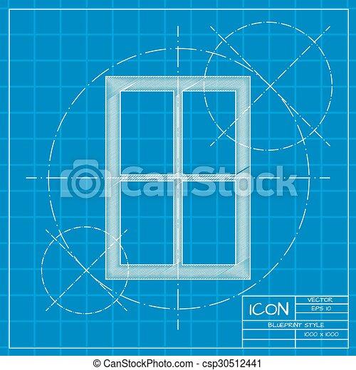 El icono de la ventana - csp30512441