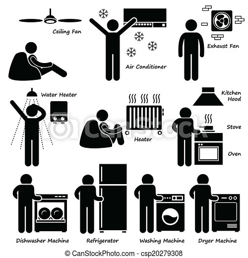 Iconos electrónicos básicos - csp20279308