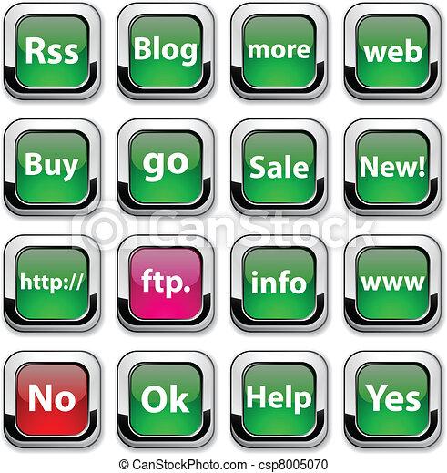 icons., インターネット - csp8005070