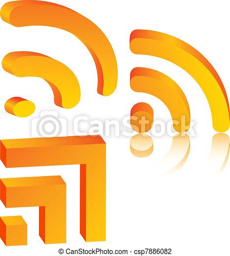iconos Rs. - csp7886082