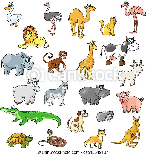 ic u00f4nes  animaux  zoo  vecteur  animaux familiers  oiseaux zoo animals clipart images zoo animal clip art collage