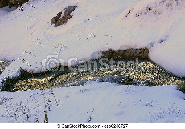 Icy Stream - csp0248727