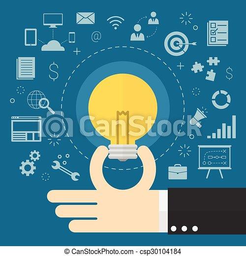 idées, business - csp30104184