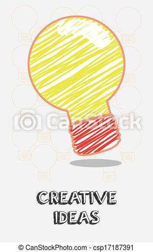 idéias, criativo - csp17187391