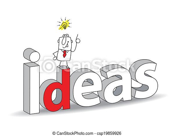 idéias - csp19859926