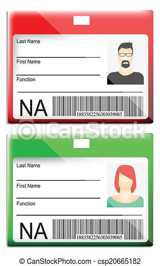 ID Card - csp20665182