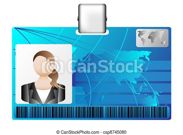 id card - csp8745080