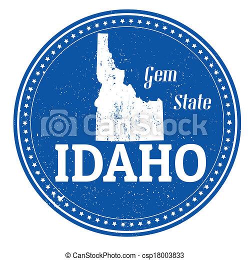 Idaho stamp - csp18003833