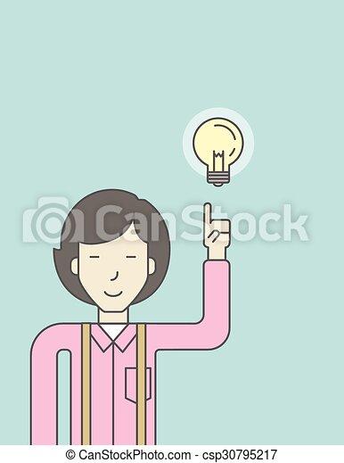 idea., affari - csp30795217