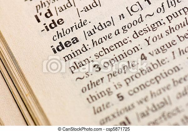 Idea - csp5871725