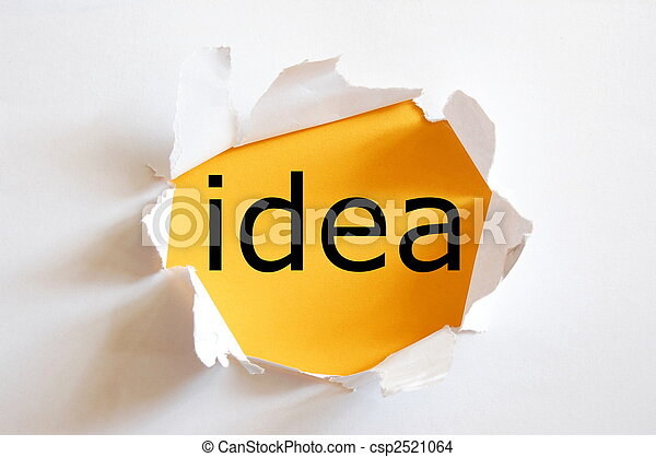 idea and creativity - csp2521064