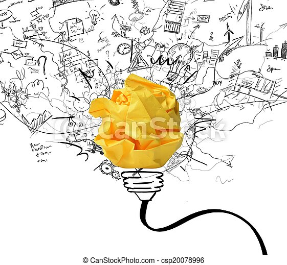 Idea and innovation concept - csp20078996