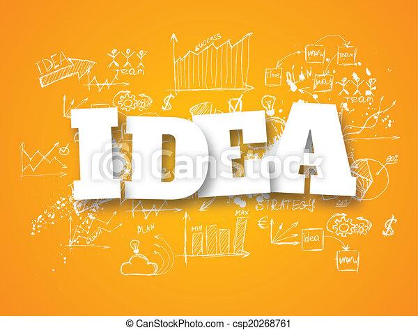 idea concept - csp20268761
