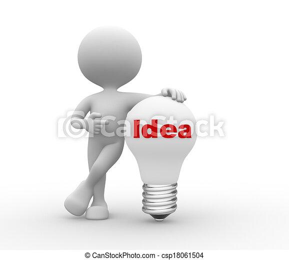 Idea concept - csp18061504