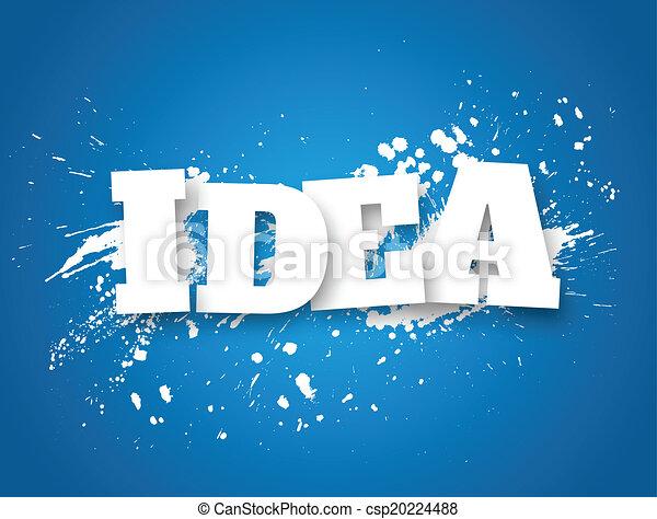 idea., concetto, affari - csp20224488