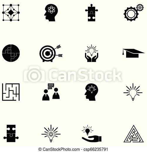 idea icon set - csp66235791