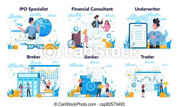 idea, inversión financiera, set., mercado, profesión, finanzas, acción - csp82573493