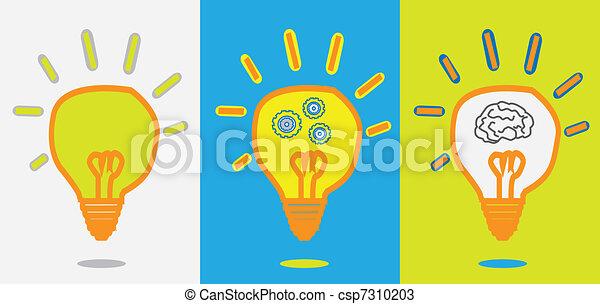 idea lamp gear progress - csp7310203
