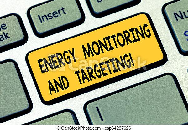 idea., pojem, kontrolování, monitor, dálkový ovladač, targeting., analysisagement, text, energie, vystavit, dílo, povolání, intention, naléhavý, klapka, klaviatura computer, vzkaz, poselství, technika, stvořit - csp64237626