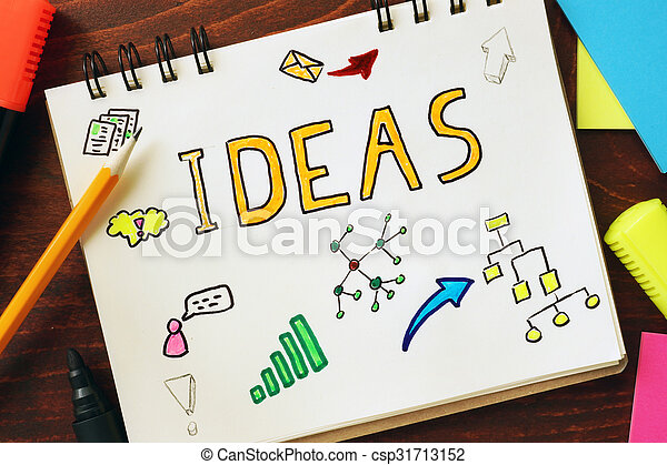 ideas., 概念, インスピレーシヨン - csp31713152