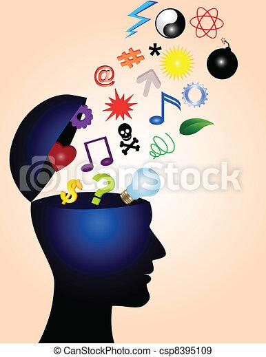 Ideas creativas - csp8395109