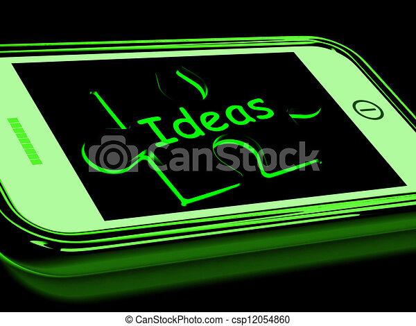 Ideas On Smartphone Shows Intelligence - csp12054860