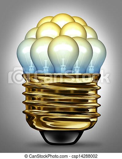 Ideas Organization - csp14288002