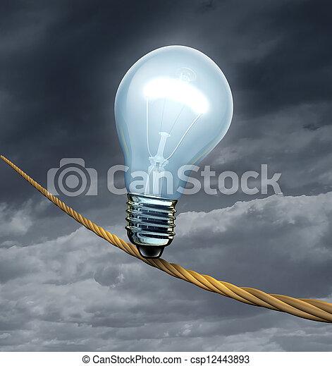 Ideas Risk - csp12443893
